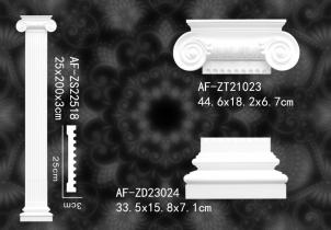 PU平面柱   AF-ZS22518