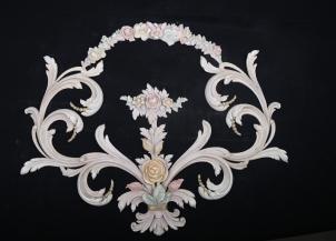 PU雕花饰花  AFL_8649